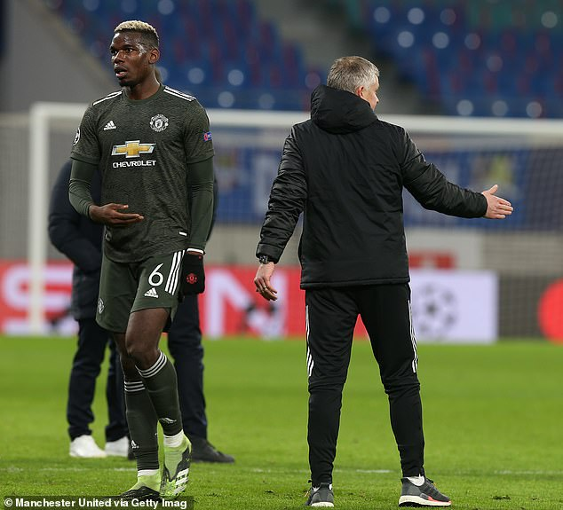 Solskjaer said Paul Pogba will be in the squad to play Man City, despite him wanting to leave