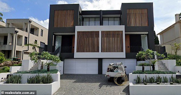 The off-spinner, 33, and his glamorous blonde WAG, 29, paid an eye-watering $3.8million for a newly-constructed townhouse on Sydney's glamourous harbour