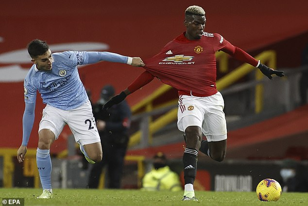 The French midfielder's performance in the Manchester derby was typical of his United career