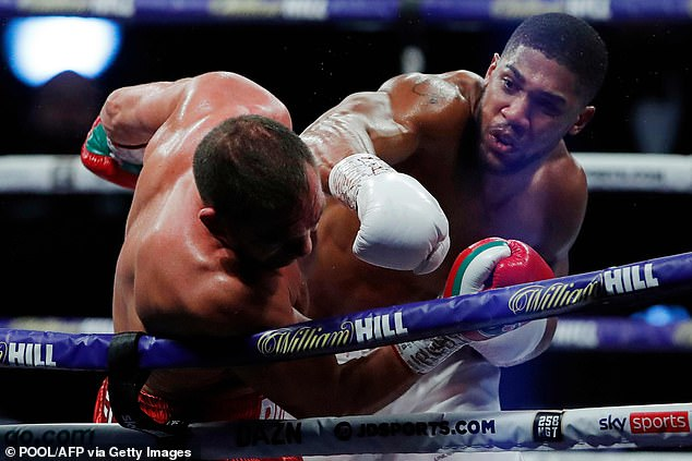 The 31-year-old knocked Pulev down more than once before earning an impressive stoppage