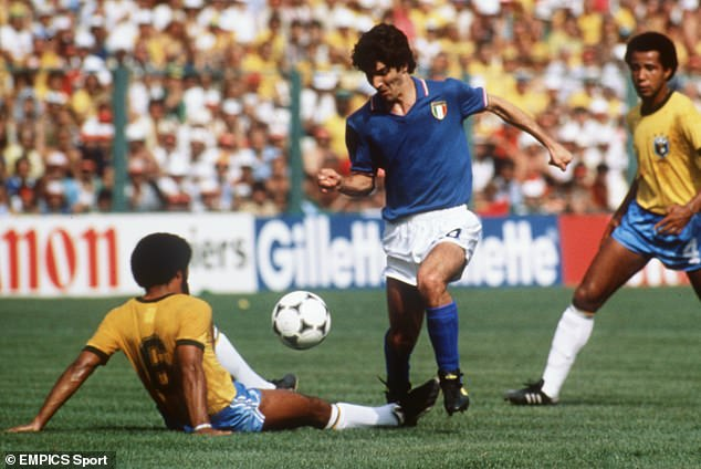 Paolo Rossi (center) died so soon after Argentina legend Diego Maradona saw the 1980s lose two of his most iconic World Cup stars