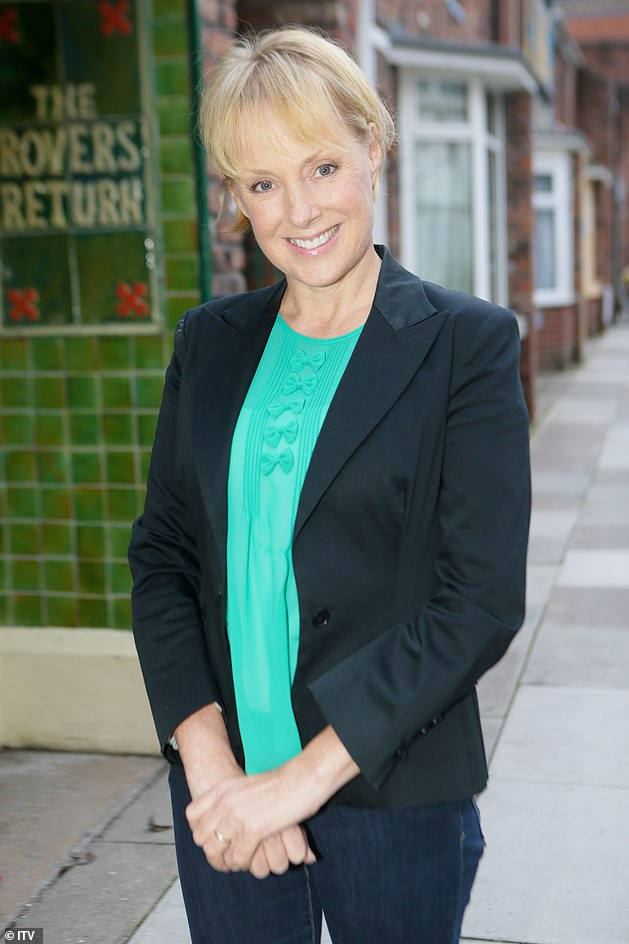 Proud: Coronation Street star Sally Dynevor has expressed her pride in daughter Phoebe, after she landed a lead role in Shona Rhimes' new Netflix show Bridgerton