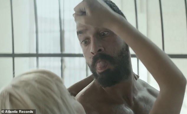 Labeouf and Dance Moms star Maddie Ziegler pictured together in the video for Sia's huge hit Elastic Heart