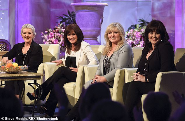 Tragic loss: Singer Bernie Nolan (left 2011) died in July 2013, aged 52, after cancer spread to the brain, lungs, liver and bones