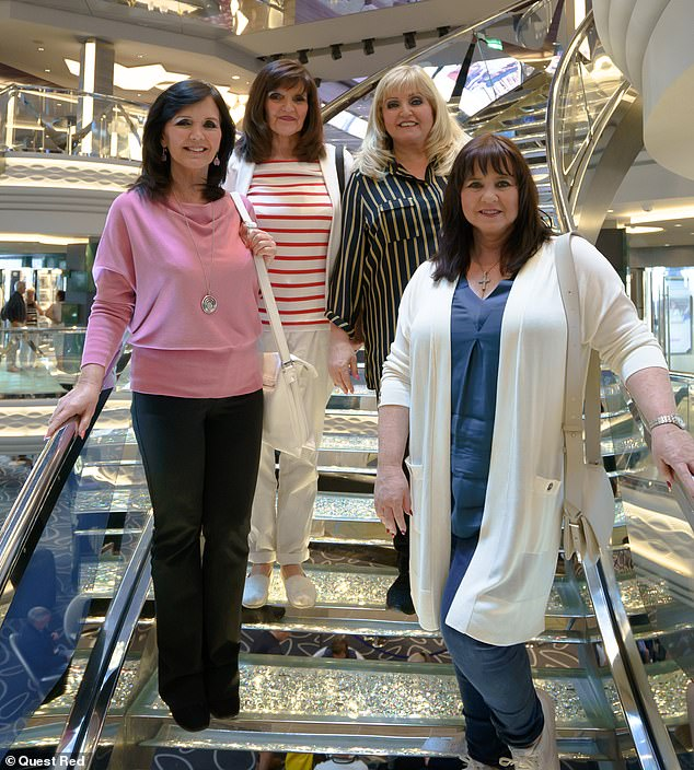 Another?  The Nolans have revealed they believe they have another sister they were trying to track down after their dad had an 'affair with someone' (above LR Maureen, Anne, Linda and Coleen Nolan)