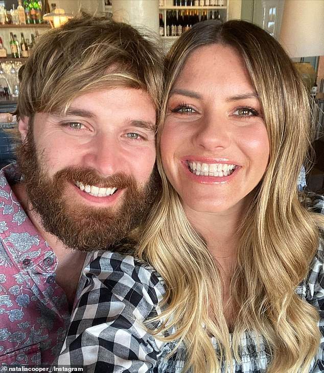'Una más with mi único amor':The Nine News reporter,36, shared a post to Instagram hinting she and her husband, Carl Fox, had news to share, but she later clarified it was a false alarm