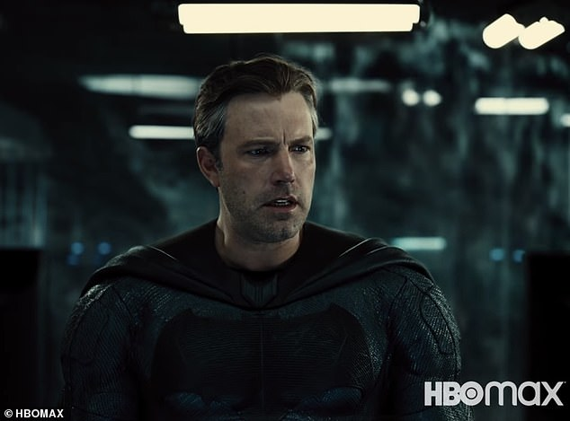 F-bomb:'There's one scene where Batman drops an F-bomb. Cyborg is not too happy with what's going on with his life before he meets the Justice League, and he tends to speak his mind,' Snyder added
