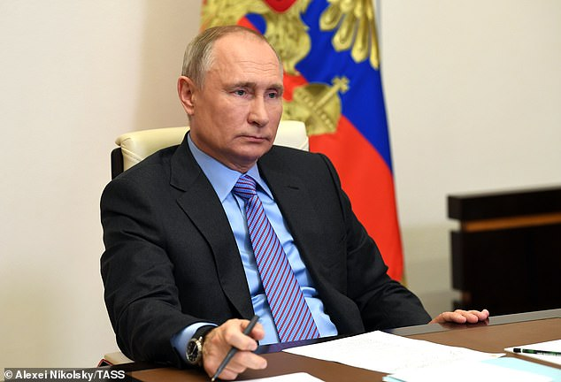 Russian President Vladimir Putin on Tuesday congratulated Joe Biden on his victory in the U.S. presidential election