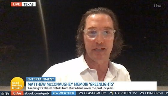 Actor Matthew McConaughey (pictured) accuses political 'illiberals' of' completely 'illegitimizing the other side'