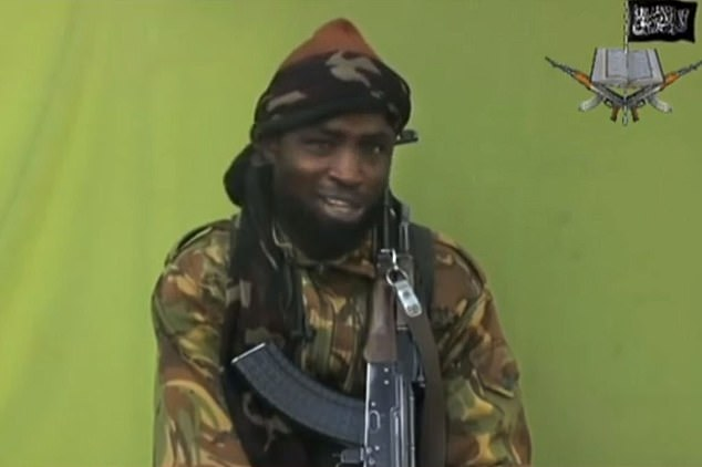 Boko Haram terror chief Abubakar Shekau claimed responsibility for the attack on Tuesday - he released a further audio clip today as they released footage of the boys