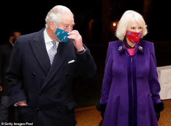 Royal butler Harrold, who worked for Charles between 2004 and 2011, insisted that Camilla is not cold or manipulative, as implied by the drama.  Pictured: Charles and Camilla earlier this month