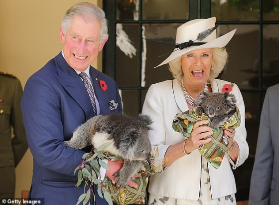 Royal staffers have criticized the 'cold' portrayal of 'compassionate' Prince Charles and 'thoughtful' Camilla Parker Bowles (pictured in Adelaide in 2012) in The Crown