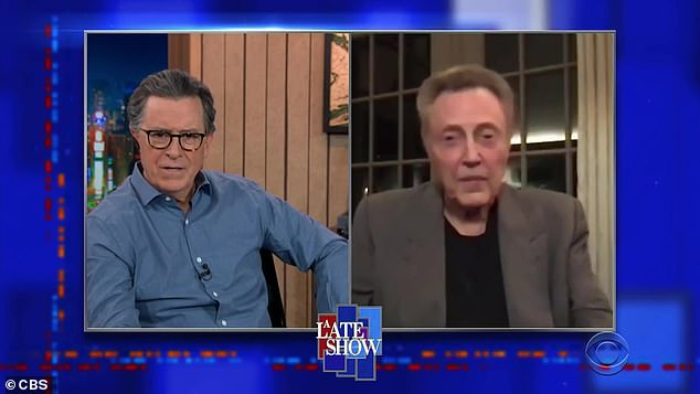 Surprised: Walken conducted the interview from his home in Connecticut, and when asked what's something people would be surprised to learn he has in his home, he said he has a room full of memorabilia, including one interesting item: Muhammad Ali's boxing trunks