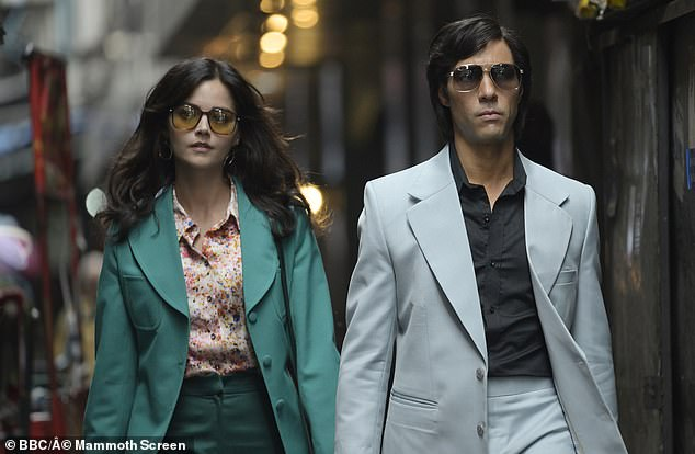 In Character The star of new BBC thriller Jenna Coleman has spoke of her fascination with the role she played in upcoming series The Serpent because she failed to leave her murderous other half (pictured withCharles Sobhraj played byTahar Rahim)