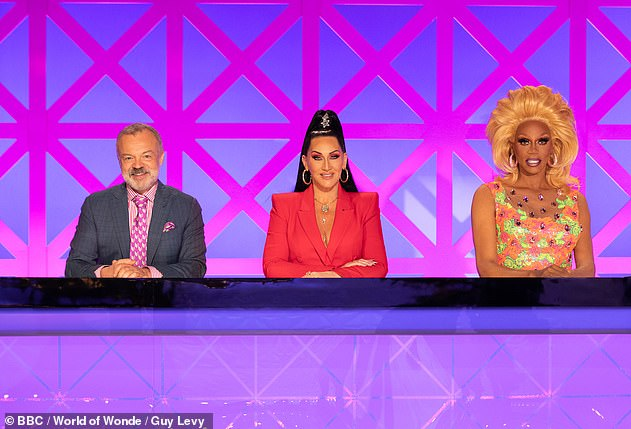 They're back! The series will see judges RuPaul, Michelle Visage, Graham Norton (pictured together in 2019) and Alan Carr crown one contestant a UK Drag Race Superstar