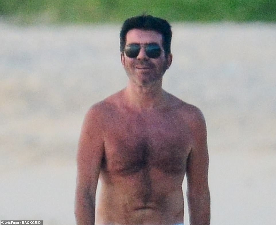Back to the beach:'That's the wisest thing. He was bloated and stressed, then he was too thin and exhausted. Now he is fit and relaxed. He's found his sweet spot. He sounds relieved and exhilarated. The sea air is so healing and rejuvenating,' Sinitta said