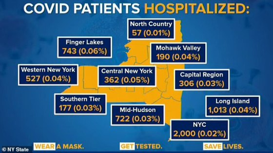 Only 0.02 percent of all people in hospitals with COVID in the state are in NYC, but it has the toughest restrictions in the state