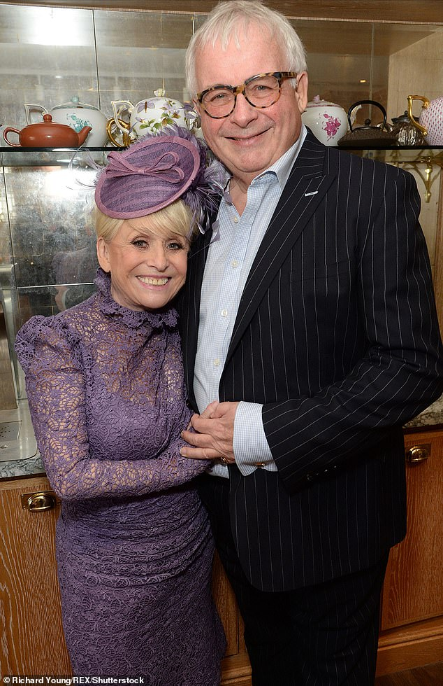 Friends: Christopher Biggins revealed details of Barbara Windsor's funeral on Steph's Packed Lunch on Thursday (pictured in March 2016)