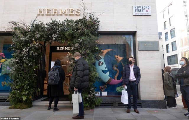Non-essential shops remain open even under the tougher rules, meaning the high street should be able to capitalise on some of the spending splurge even if much will go online