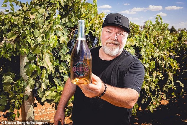 Business: His latest venture is Nueva Sangria, an Aussie twist on the classic Spanish alcoholic drink that is stocked at Dan Murphy's and other bottle shops