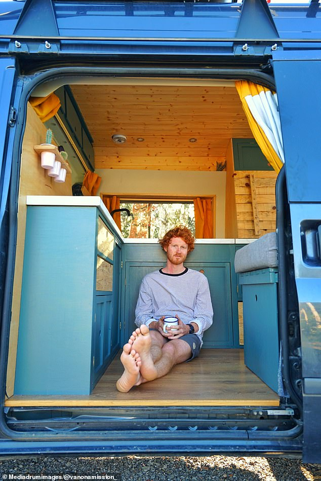 Since completing their van renovation, Charlie and Grace have visited 16 different countries and covered 10,000 miles