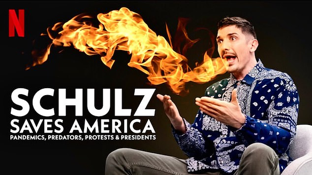 New comedy special Schulz Saves America premiered on Netflix on Thursday