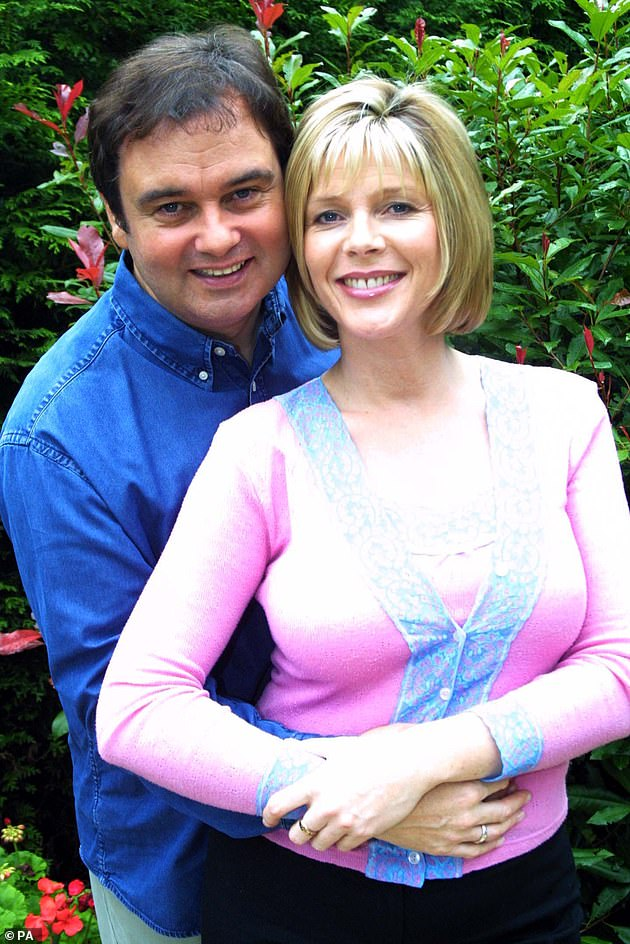 The happy couple: The married duo have been on the show for 15 years