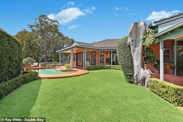 Fancy:While the four-level home does not have ocean views, it is considered architecturally noteworthy and was featured on Grand Designs Australia in 2013