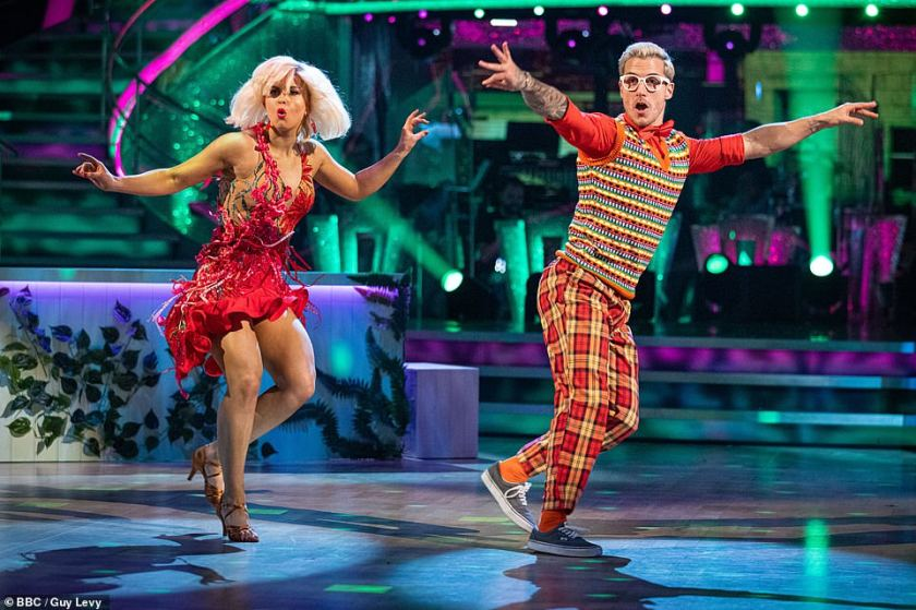 'The final countdown': Despite facing challenges in the competition after finding herself in the dance off twice, Maisie previously said being on Strictly has shown her that she can be confident and 'get over' her self-doubts