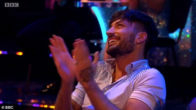 Number? At the end of her message to Jamie, Emily hilariously and cheekily asked if she could give pro dancer Giovanni her number