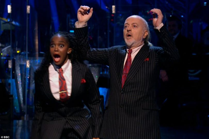 Victory! Bill Bailey and Oti Mabuse have been crowned the winners of Strictly Come Dancing 2020