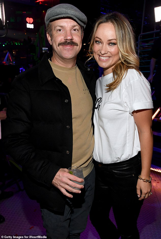 First kiss: It's particularly heartbreaking, considering the sweet way Sudeikis spoke of their first kiss to Access Hollywood in August: 'I just had a hunch that the second I kissed her, I wasn't going to end up kissing ever kissing anyone ever again' (pictured in December, 2013)