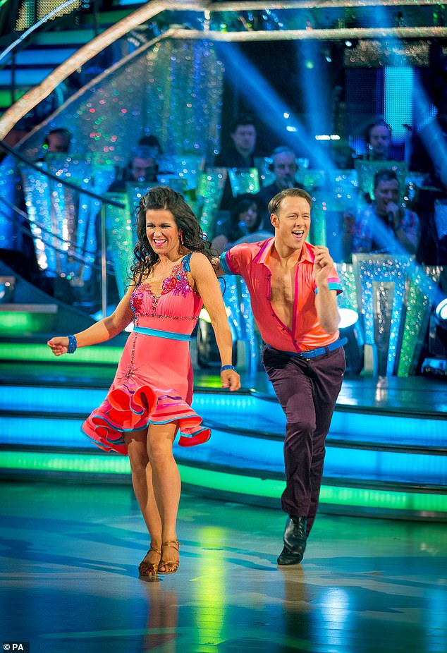 Back on the floor? 'Kevin's had conversations with the BBC and said he'd consider returning to the show in the future. He absolutely loves Strictly and is still a massive fan of the show'