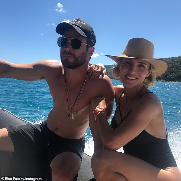 Hollywood in Byron Bay!Chris' post comes after he revealed why he and a swathe of other Hollywood A-listers are ditching Los Angeles for Australia - in particular Byron Bay