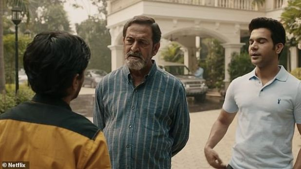 Domestic service: 'I want to be a driver for your son,' Balaram tells Ashok (Rajkumar Rao), a rich Indian man who does not respect people whom he considers humble.
