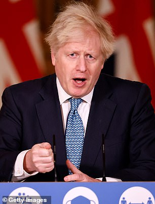 The controversial ban yesterday came under fire with Boris Johnson said to be convinced French President Macron is using the crisis to force Britain to cave in during Brexit trade talks