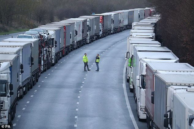 The closure of the UK-France border was finally lifted this morning, after a deal to test lorry drivers for Covid was struck yesterday