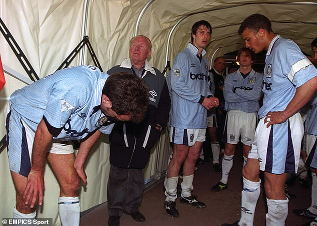 Manchester City were relegated from the Premier League in 1996 after a terrible start