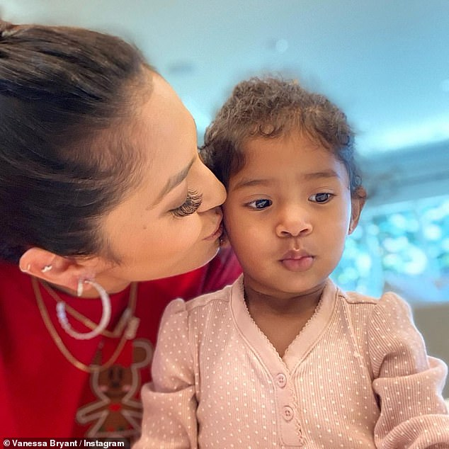 Mommy and me!Vanessa Bryant shared a sweet mother-daughter moment with her one-year-old daughter Capri Kobe Bryant