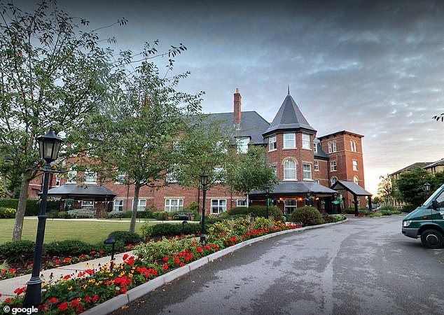 Sunrise of Westbourne (pictured), a care home for elderly residents in Bournemouth, will receive Pfizer's coronavirus vaccine on Christmas Eve