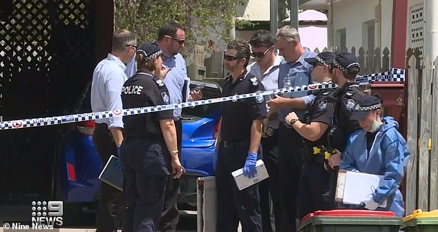 Police were called to the home on Fulham Road in Gulliver, Townsville, on Tuesday morning