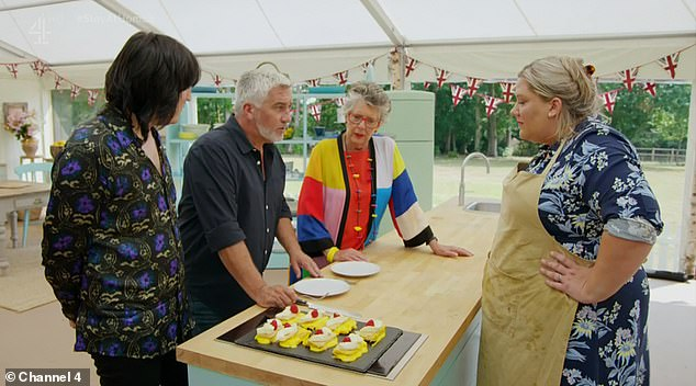 Runner-up:Laura missed out on winning The Great British Bake Off after making it to the final, and lost out to the title to Peter Sawkins