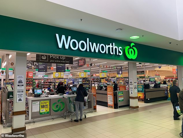 The recall for the Woolworths branded Cooked and Peeled Cocktail Prawns was issued on Wednesday - just two days before December 25 (stock image)