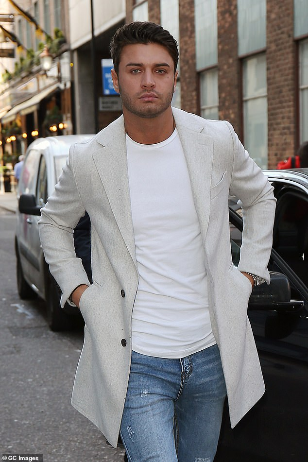 Tragic: Mike Thalassitis rose to fame on the third season of the show. The 26-year-old footballer tragically lost his life to suicide in March 2019