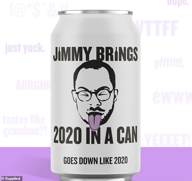 Australian alcohol delivery service Jimmy Brings has unveiled a 2020 drink in a can that tastes just as 'horrible' as the year.