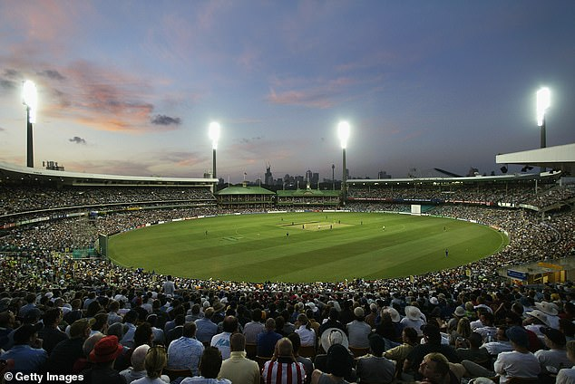 Crowds for this week's cricket test at the SCG (pictured above) have been reduced from to just 10,000 fans per day, down from the previous figure of 20,000