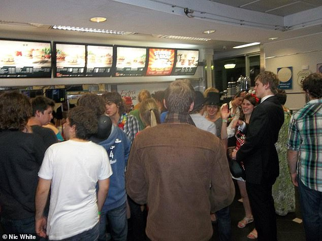 Just as important was the Hungry Jacks across the car park where many a night ended in a bout of messy chaos and vanishing mates