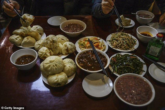 Chinese restaurant-goers wasted an estimated 17 to 18million tonnes of food in 2015 - enough to feed 30 to 50million people for an entire year. Now the country wants to stop the trend