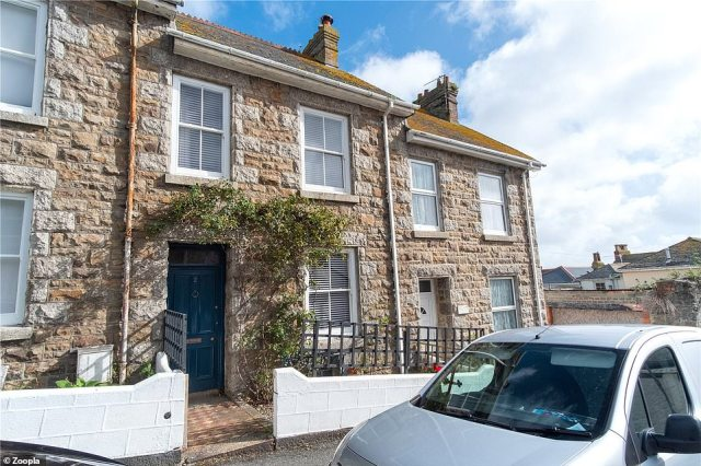 Penzance: Coastal locations also featuring in the top ten include Penzance, the most westerly major town in Cornwall in third place, with the average property increasing its value by £23,437 in 2020 (£64.04 per day). This four bed terraced property in Penzance is on the market for£280,000.