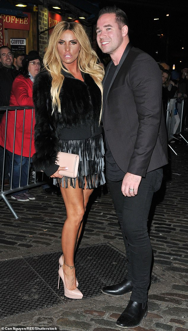 Divorced:Katie Price's divorce from ex Kieran Hayler will be finalised in time for New Year which will leave her free to marry boyfriend Carl Woods